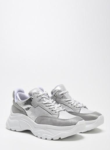D by Divarese Sneakers Gümüş